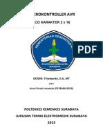 laporan ADC AVR
