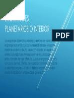 Engranajes Planetarios o Interior