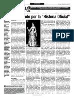 Dejadas Por La Historia Oficial