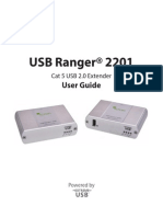 Cat5 USB Extender Manual