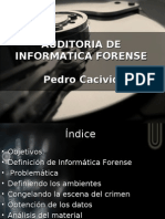 Auditoria de Informatica Forense - Pedro Cacivio