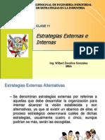 Clase 11 - Estrategias Externas e Internas