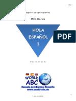 00 Hola Español 1 - Mini-Stories - Leseprobe