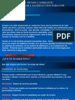 CAPITULO I - Marketing en un mundo cambiante