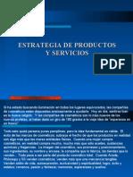 CAPITULO VIII - Estrategia de productos y servicios