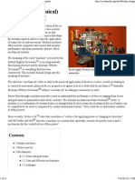 Machine (Mechanical) - Wikipedia, The Free Encyclopedia