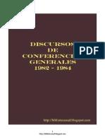Discursos de Conferencias Generales 1982 - 1984