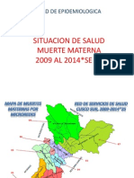 Situacion de Salud.materno.junio 2014