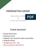 Farmasetika 1