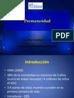 prematuridad - titul 2010