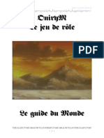 Onirym Guide Monde Paorn