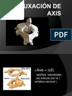 Luxación de Axis