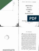 ALBERDI - Historia de La Guerra Del Paraguay