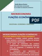 MICROECONOMIA - FUNCOES
