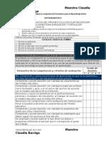Examen Para El Docente Autoevaluacion Doc Claudia Barriga
