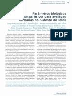 2012-Parametros Biologicos e de Habitats Fisicos Para Avaliacao de Bacias No Sudeste Do Brasil
