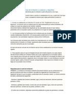 Información Sobre Cartas de Invitación a Cubanos y Requisitos