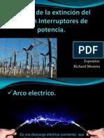 Expo Sobre Extinción Del Arco en Interruptores