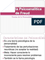 Psicoanálisis de Freud