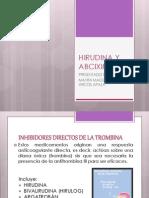 Hirudina y Abciximab