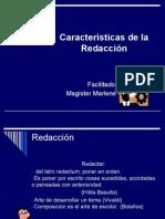Caracteristicas de La Redaccion.ppt