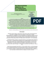 Competências desenvolvidas por acadêmicos de Fisioterapia e implicações para o exercício profissional