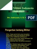 Sejarah Militer Indonesia Tahun 1945-1959