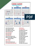 Calendar Holidays 2013-14