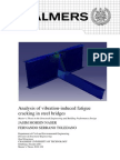 Analysis of vibration-induced fatigue cracking in steel bridges