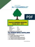 Plan Gobierno Corima