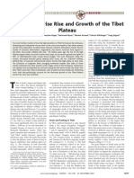 Oblique Stepwise Rise and Growth of the Tibet Plateau