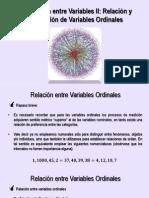 Sección 03 - Metodología de La Investigación III - Relación Entre Variables Ordinales