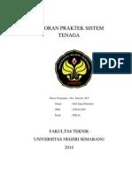 Laporan Praktek Sistem Tenag1