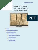 Literatura Latina Caracteristicas Completo (15 Hojas)