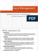 Engineering & Management