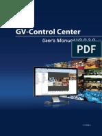 GV Control Center User Manual(CCSV3030 a en)