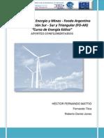 Curso en Energía Eólica (MEM-FOAR)