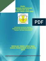 Model Program Matrikulasi 2013