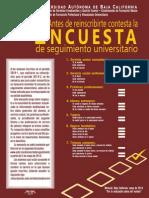 Encuesta de Seguimiento 2014-2