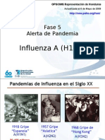 Influenza A H1N1 - OPS Actualizada 6 de Mayo de 2009