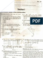 CAT 2012 Previous Year Question Paper