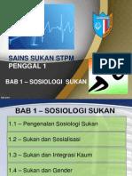 Bab 1 - Sosiologi Sukan
