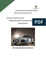 Diagnostico y Servicio a Motores a Diesel