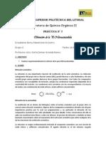 7 Infor Obtención P-Nitroacetanilida Organica