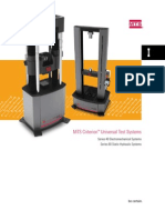 MTS Criterion Universal Test Systems
