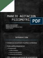 MANEJO AGITACION PSICOMOTRIZ
