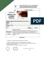Examen Parcial Quimica II Dued