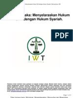 Menyelaraskan Hukum Sivil Dengan Hukum Syariah