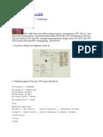Bermain AVR Dan LED jilid 1