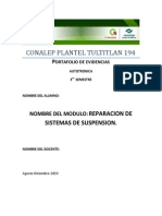 Reparacion de Sistemas de Suspension